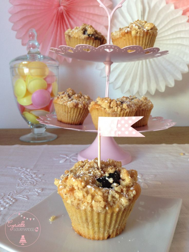 Muffins Figues-Cannelle et Streusel Cannelle – Bataille Food #26   Cyrielle Gourmandise