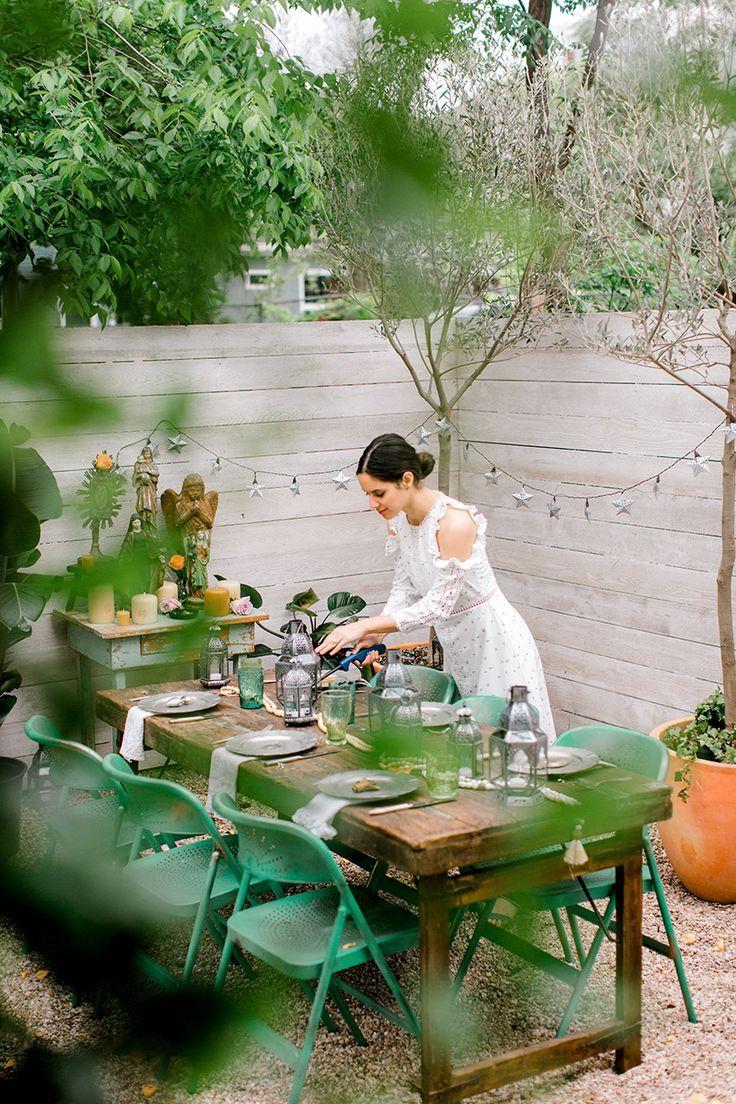 A Garden Inspired Cinco De Mayo Party Scandinavian Garden Outdoor Outdoor Entertaining