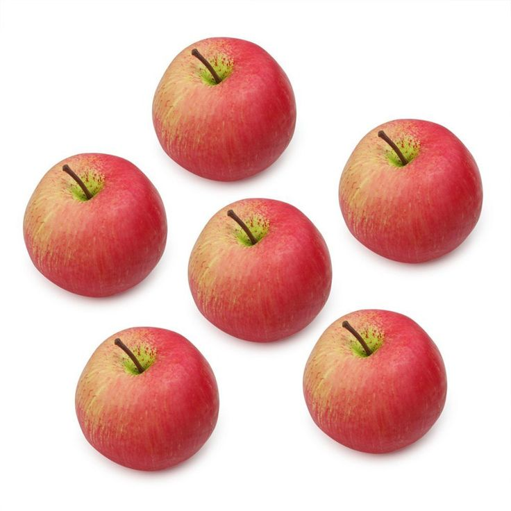 Tinksky 6pcs Lifelike Artificial Red Apple Decorative Fruit Prop Home Party Ornament *** Check this awesome product by going to the link at the image.