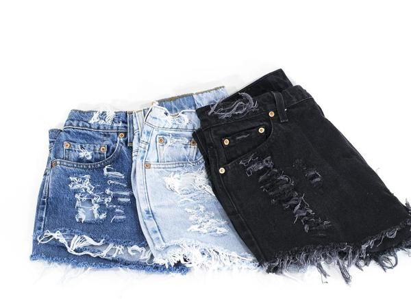 1000  ideas about Cut Jean Shorts on Pinterest | Denim Cutoff ...