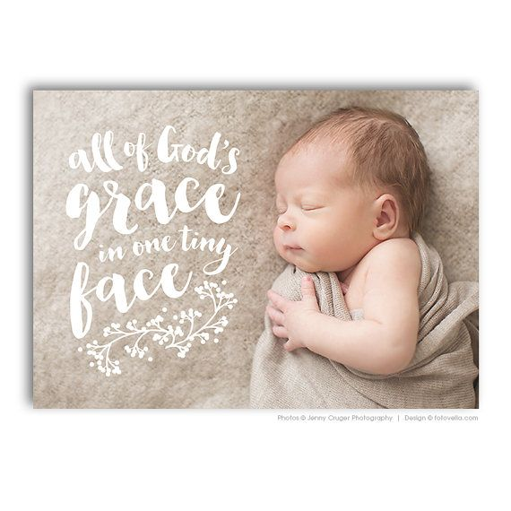 """Baby Wyatt"" Birth Announcement Template • Designer Photoshop templates for photographers by FOTOVELLA • Featuring images by Jenny Cruger Photography"