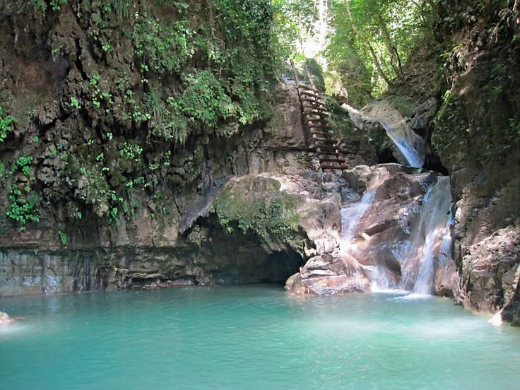 One of the 27 waterfalls on the waterfall tour in Puerto Plata, Dominican Republic. I will be going there in October!