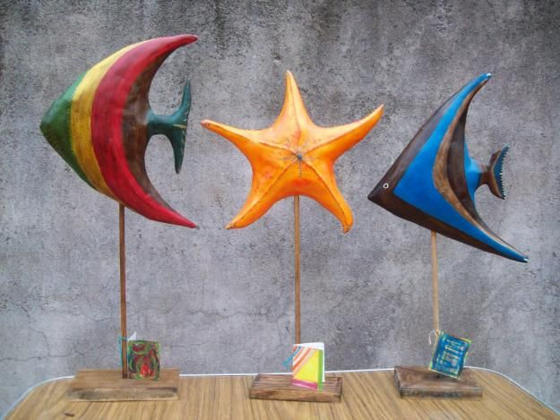 Resultados de la Búsqueda de imágenes de Google de http://images04.olx.com.ar/ui/8/41/71/1283722677_118364071_1-Arte-y-objetos-unicos-Peces-de-Cartapesta-o-Ceramica-Nunez-1283722677.jpg