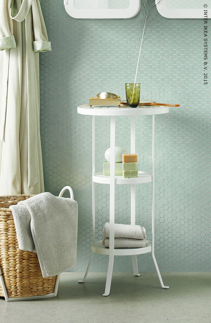 exposez vos accessoires de salle de bains prfrs gunnern - Salle De Bain Accessoire Ikea