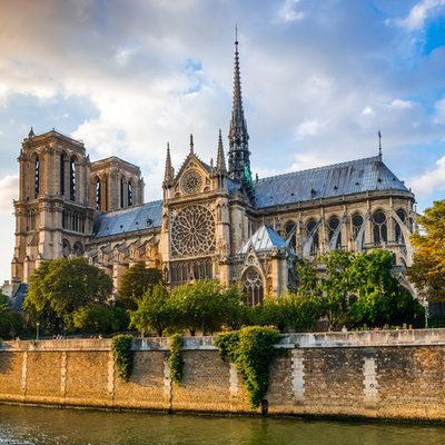 Notre Dame Cathedral The more than 850-year-old French Gothic-style Notre-Dame Cathedral sits just beside the River Seine.-Gorgeous Cathedrals From Around the Globe   Jetsetter Team