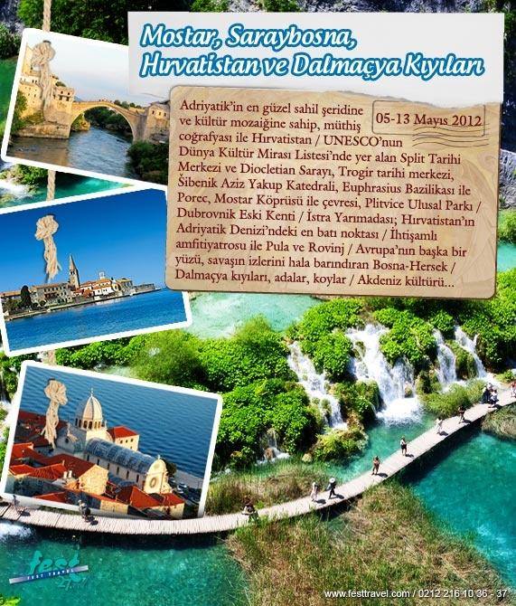 Adriyatik'in en güzel sahil şeridine ve kültür mozaiğine sahip, müthiş coğrafyası ile Dalmaçya Kıyıları sizleri bekliyor...