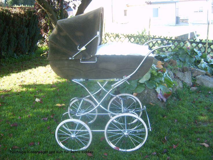 Hier zeige ich euch Bilder meiner alten Kinderwagen ... in diesem Pin geht es um die vintage Modelle von Gesslein