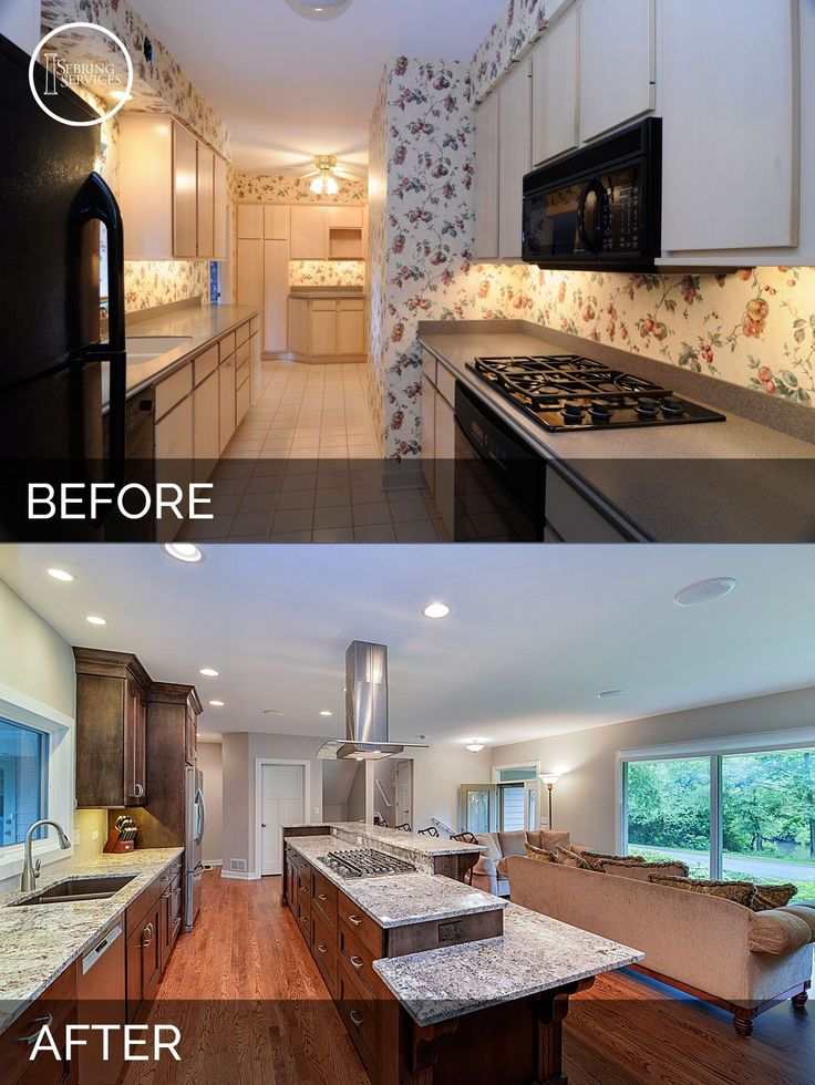 Remodeled Kitchens Before And After Remodelling Magnificent Best 25 Small Kitchen Renovations Ideas On Pinterest  Kitchen . Decorating Design