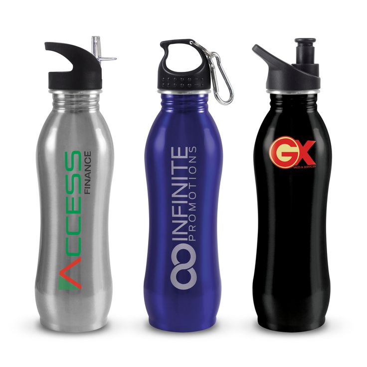 Atlanta Eco Safe Drink Bottle - Custom your own with your brand identity. Ask Promotions Global. www.promotionsglobal.com.au #waterbag #water #drinkware #design #branding #custom #promotional #merchandise #promotionsglobal #promosglobal