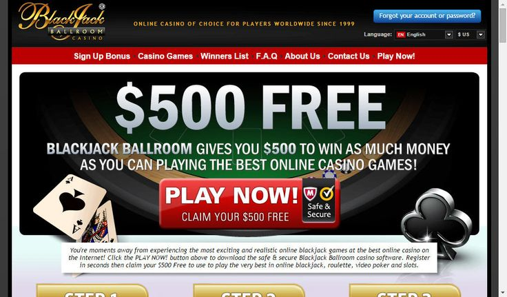 Free play at Casino Rewards Group - BlackJack Ballroom Casino. Bonuses / Promotions New players to Blackjack Ballroom can take advantage of their 1 hour and $500 free promotion or a 40% matching bonus to a maximum of $400. They are also part of the CasinoRewardsGroup, a proven and respected loyalty program that offer highly competitive weekly and monthly promotions as well as the opportunity to redeem loyalty points in any of their 29 partner casinos.