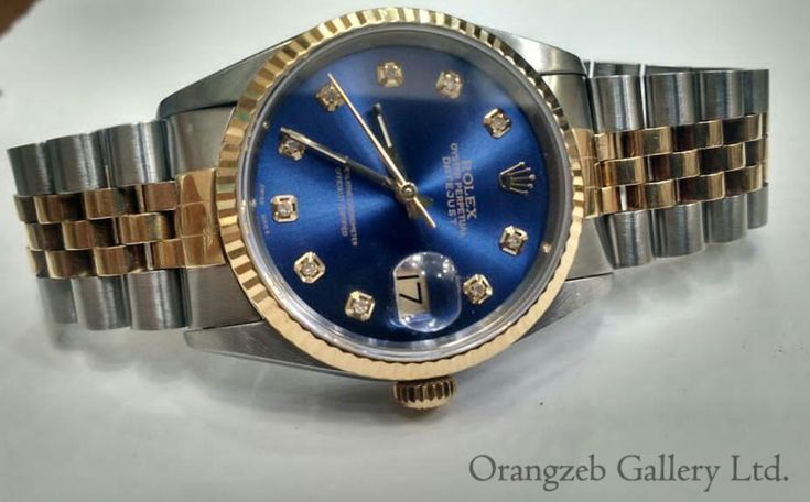 Rolex Datejust 18k Yellow Gold/Steel Blue Diamond Dial Watch 16233. Sold now. Many thanks to our prestigious customer for business with us. For more info you can contact us📧info@orangzebgallery.com or o.shaikh@orangzebgallery.com or DM📨 #uk #herfordshire #18kgold #fashion #offeroftheday #sale #bluedail #watchlondon #worldwide #shipping #jewelry #jewelrylover #watchelove #iloveit #worldwide #amazing #datejust #rolex #watchauction #satisfaction #priority #beautifullyclicked😍