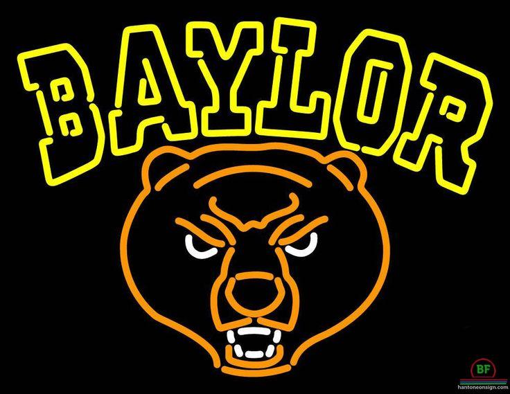 Baylor Bears Neon Sign NCAA Teams Neon Light