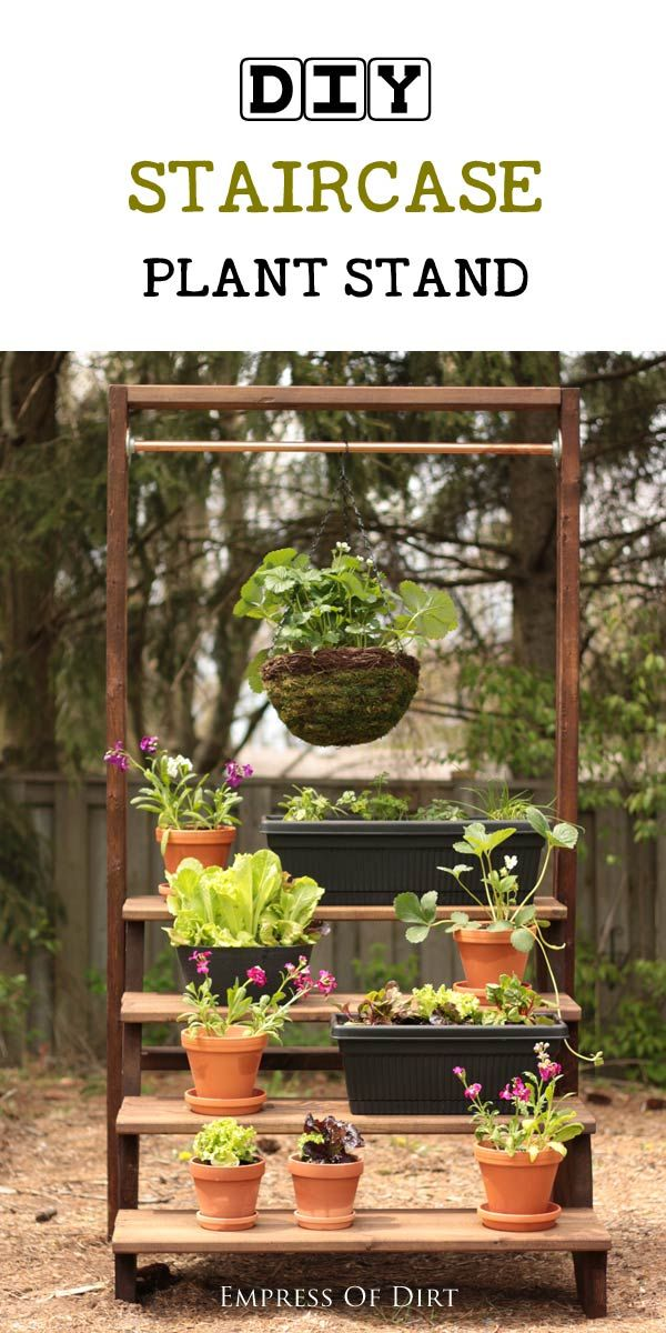 Best 25 Hanging Basket Stand Ideas On Pinterest Diy