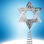 Hanukkah Tree Topper for interfaith Homes