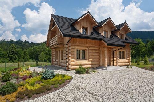 Luksusowy góralski dom z bali do wynajęcia • Strona główna