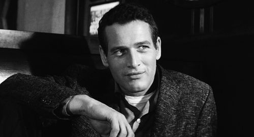 Paul Newman in the huster 1961