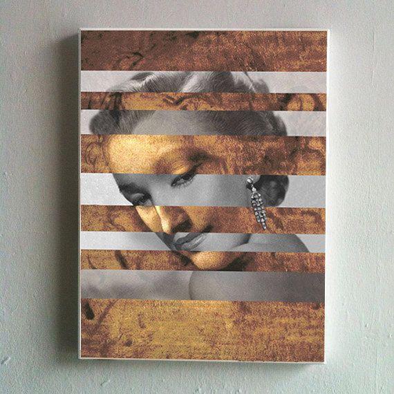 Leonardo's Head of a Woman & Marylin Monroe by KingOfMashUps