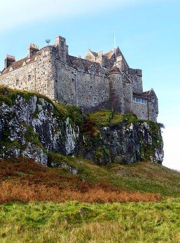 Duart Castle, Mull, Scotland.                                                                                                                                                                                 More