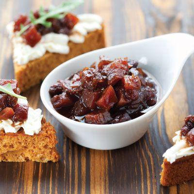 Try adapting this #recipe using fresh, #seasonal_fruit. Serve when cold. #winter_fruit_chutney_recipes