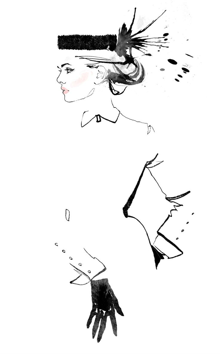 Fashion illustration // Jessine Hein