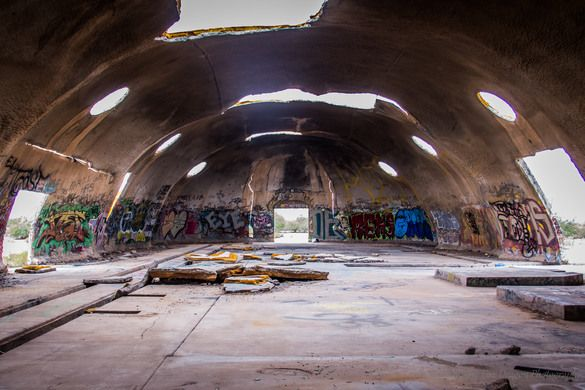 CASA GRANDE, ARIZONA  The Domes An abandoned facility that has become a place of ritualistic satanic worship, or so rumor has it.