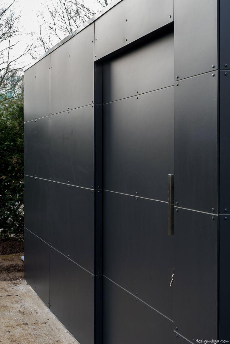 design garden shed by design@garten - augsburg, germany projekt in Luxembourg