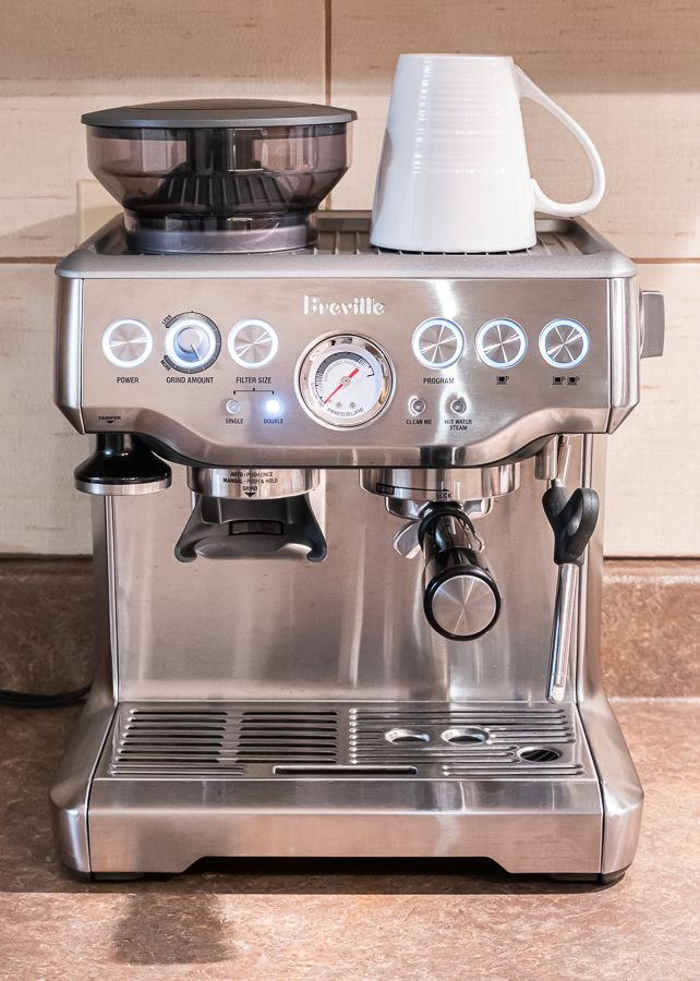 Breville Barista Express Tips Tricks How To Make The Perfect Latte In 2020 Breville Espresso Machine Breville Barista Express Home Espresso Machine