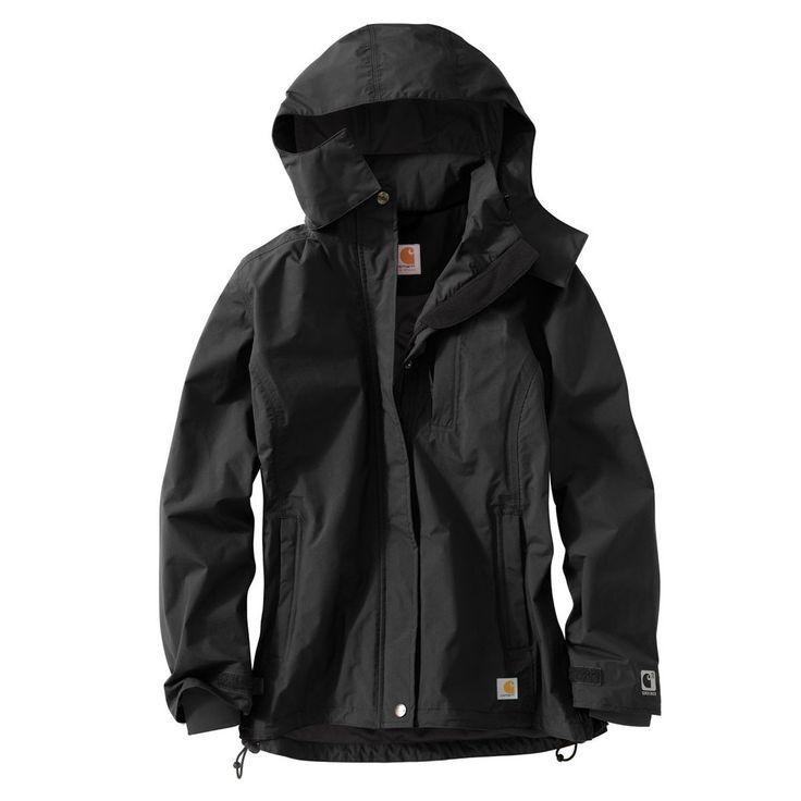 Carhartt Women's Black Cascade Jacket