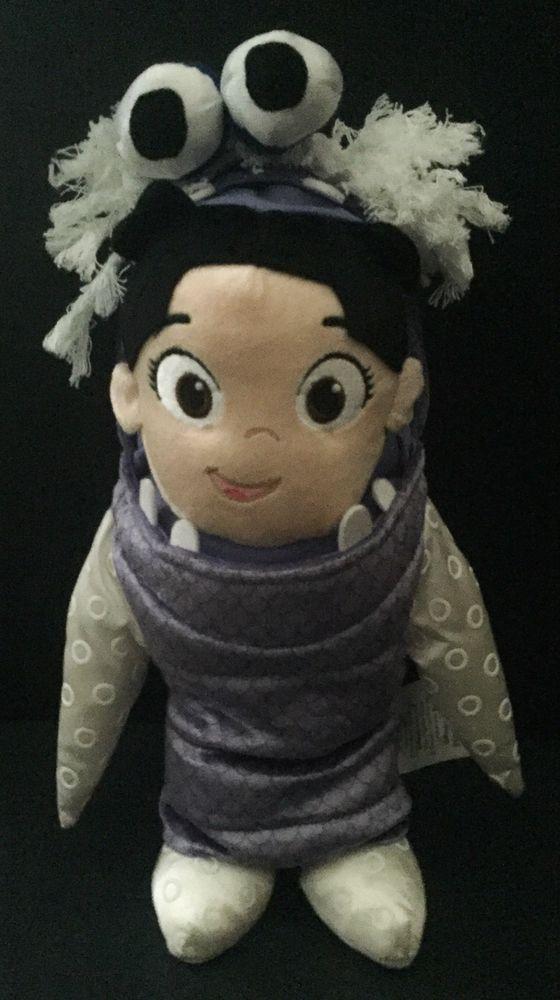 Disney Store Boo Monster's Inc Costume Plush Stuffed Animal Doll Toy #Disney
