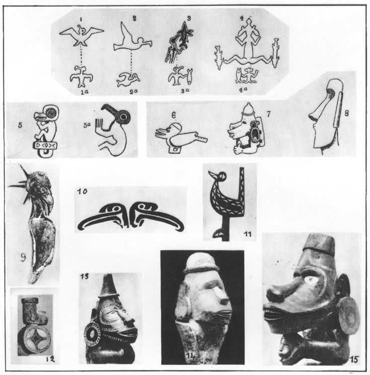 easter island petroglyphs - Google Search