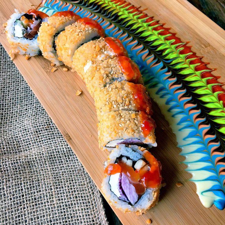 [I ate] Zuke Sake Sushi Roll