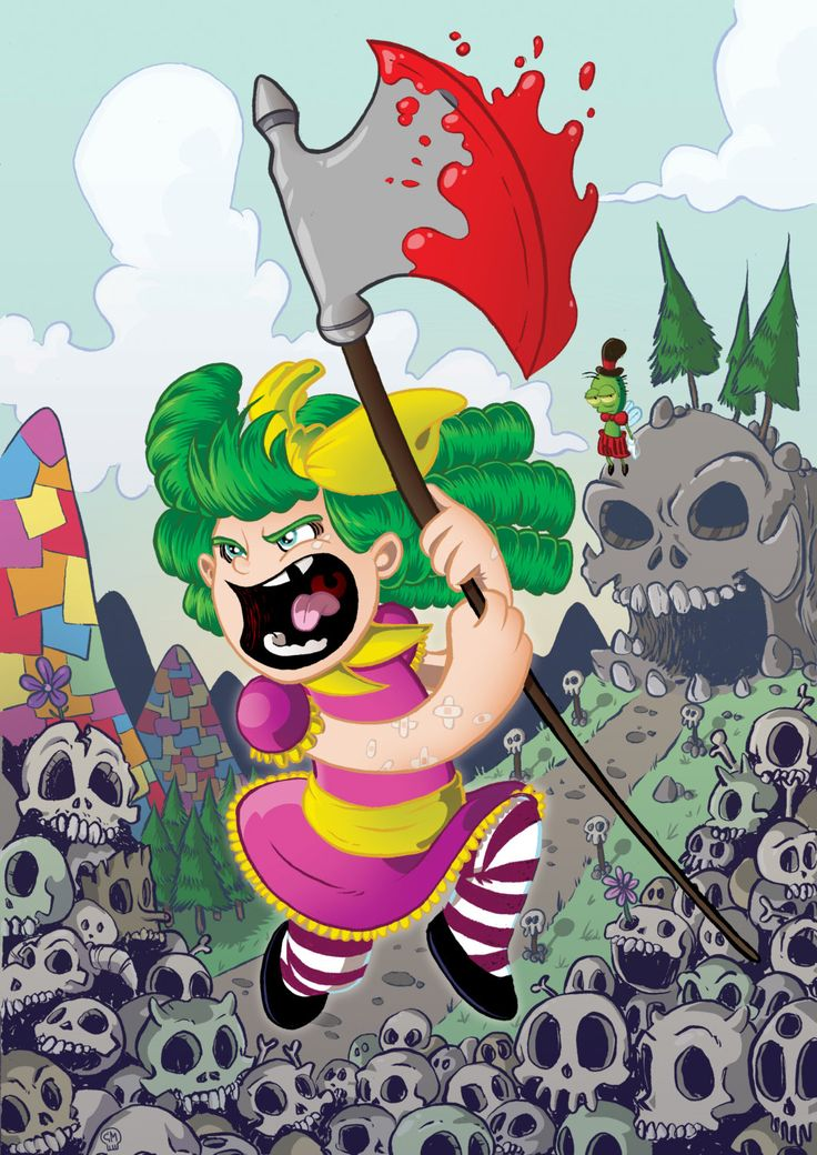I Hate Fairyland - Gert & Larry by chrismcquinlanart on Etsy