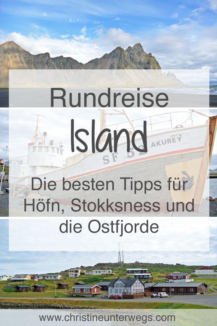 Meine Tipps für Höfn, Stokksness und die Ostfjorde findest due hier: https://www.christineunterwegs.com/reisen/island/hoefn-stokksness-ostfjorde/