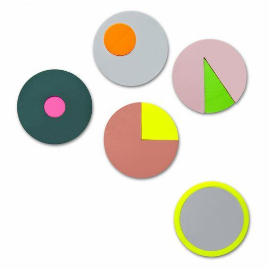 Geometric plastic stickers - Colour Notes I Hay - Cult