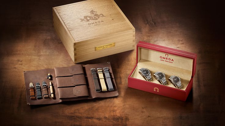 This year marks the 60th anniversary of three of Omega's most important models: the Speedmaster, Seamaster and Railmaster. The brand is celebrating by releasing a frankly epic trio of limited edition reissues, available individually, or in this '1957 Trilogy' box set. No word yet on pricing...