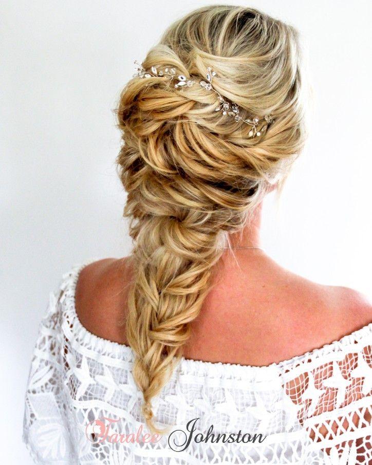 A gorgeous soft hair up, so sassy and romantic #princessplaits  www.weddinghairbytara.co.uk