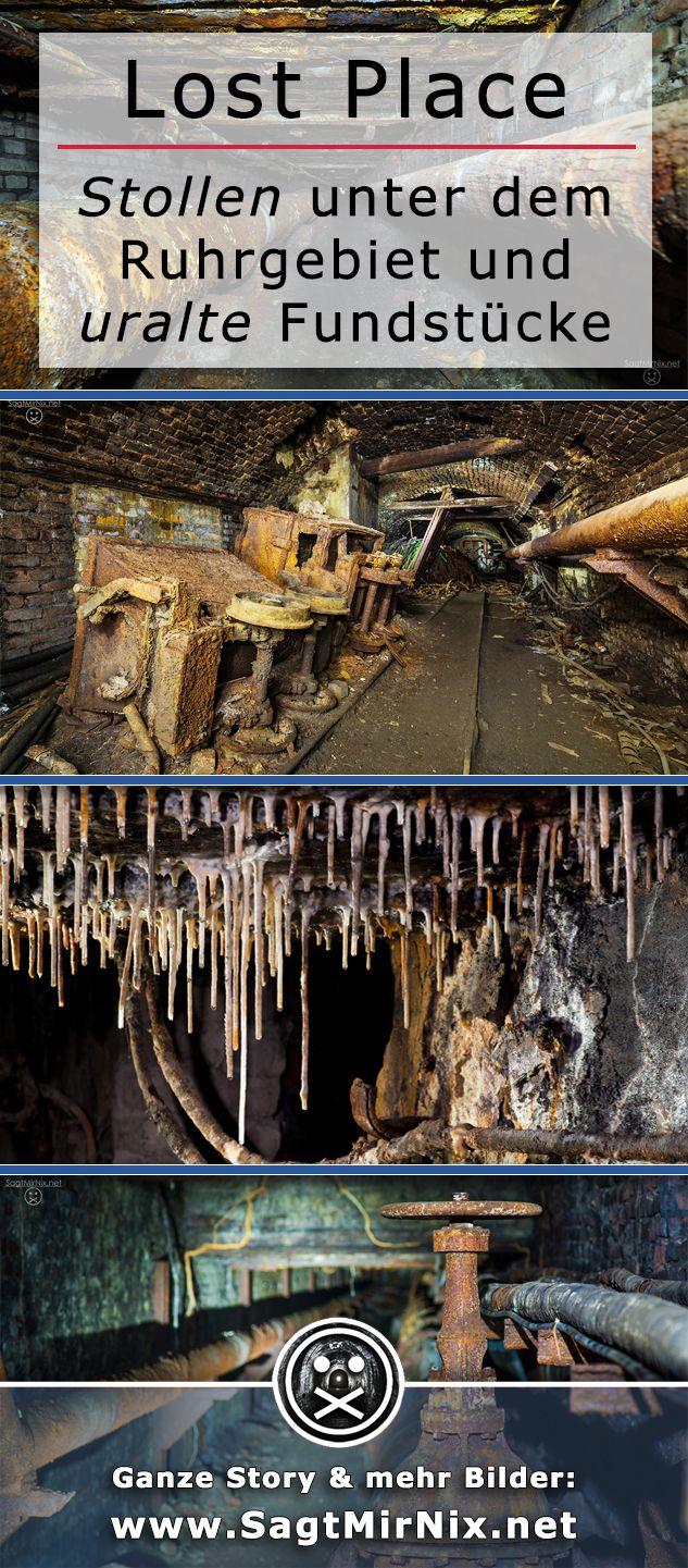 Ein Lost Place tief unter dem Ruhrgebiet - was aussieht, wie ein Stollen aus dem Bergbau, sind die Katakomben eines Stahlwerks in Bochum. Kohle und Stahl, das war ein mal. Oder? Ein verlassener Ort in NRW, wie er im Buche steht.
