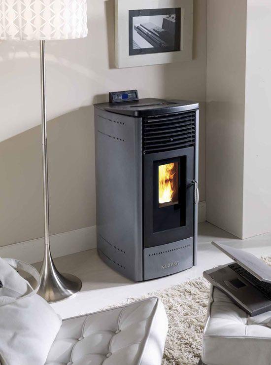 Klover Dea wood pellet stove, Klover Dea Eco wood pellet stove UK