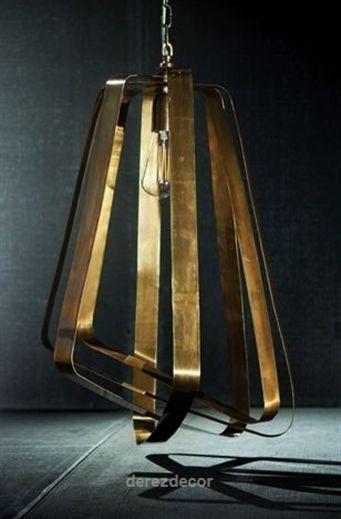 Wonderful Adele Vintage Brass Pendant Light, 2015 home decor trends