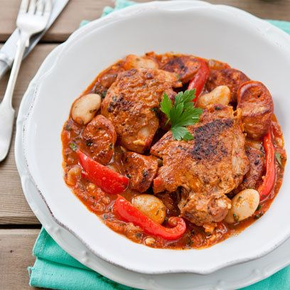 Chicken and chorizo casserole | Casserole recipes | Red Online