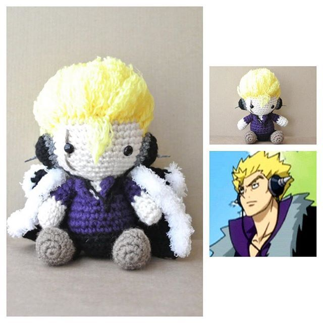 #laxus #laxusdreyar #fairytail #ラクサス #フェアリーテイル #amigurumi #crochet #crochetdoll #ganchillo #tejer #вязание #амигуруми #orguoyuncak #손뜨개인형 #あみぐるみ #アニメ #anime #doll #handmade #handmadedoll #chibi #ChibiAmi #plush