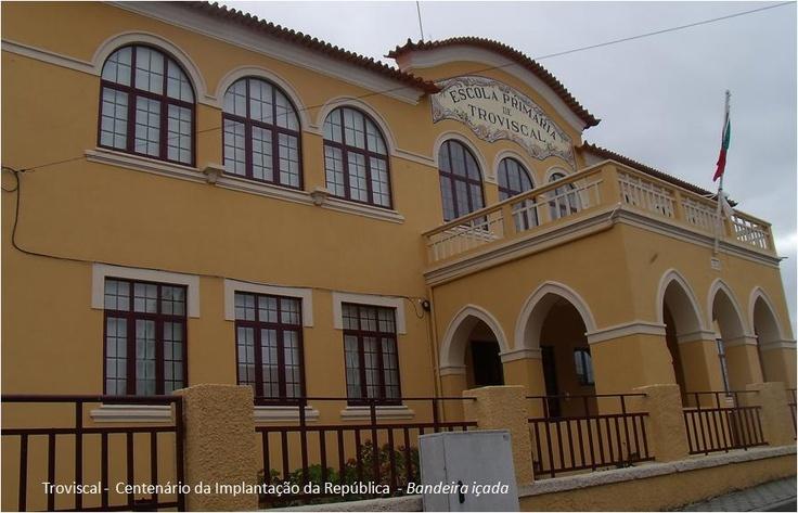Antiga Escola Primária do Troviscal, Oliveira do Bairro, Aveiro, Portugal