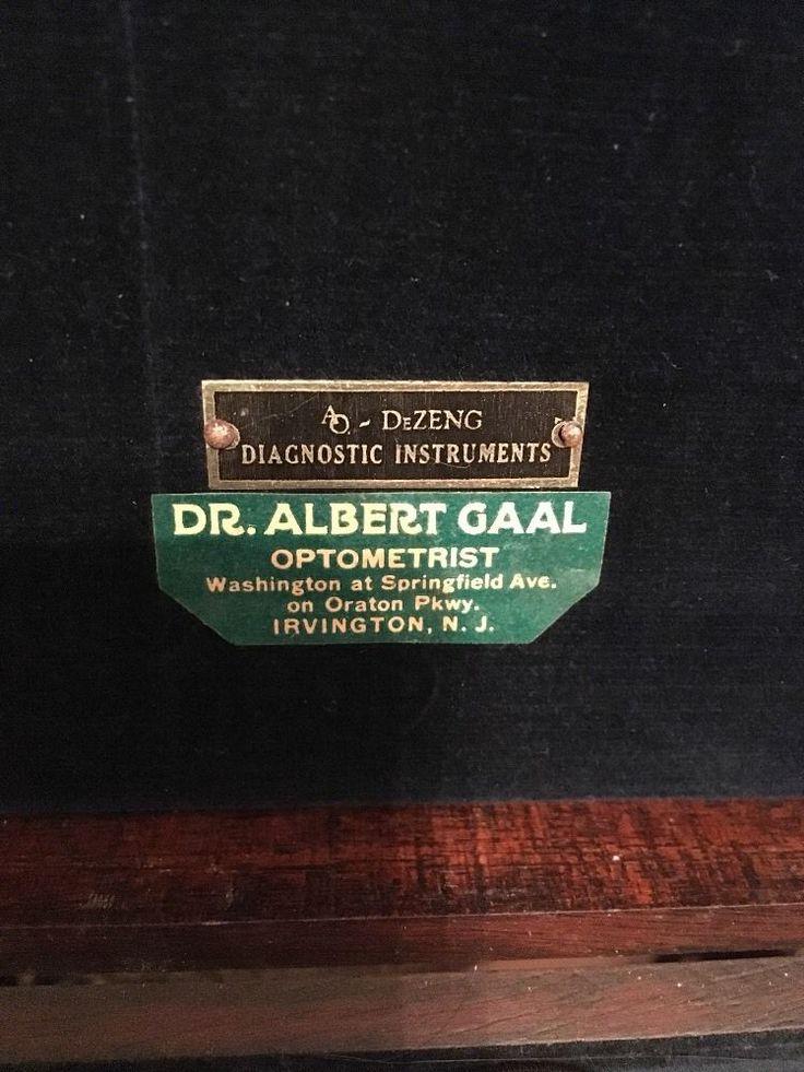 Vintage DeZeng American Standard Retinoscope Dr Albert Gaal Irvington NJ | eBay