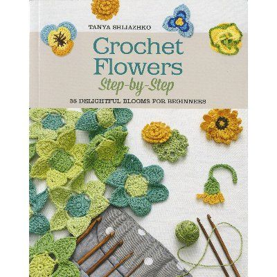 St. Martin's Books-Crochet Flowers - ValuCrafts.com