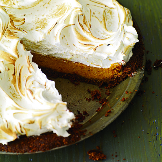 Sweet-Potato Meringue Pie //http://www.foodandwine.com/slideshows/pies ...