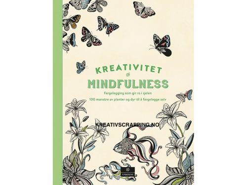 BOK KREATIV FARGELEGGING - 483661 - 100 MØNSTER AV PLANTER OG DYR    Boken er fylt med inspirerende mønstre, små og store, dekorative, stiliserte og naturalistiske. I starten er det en liten innledning om kreativitet og mindfulness, hvordan du kan bruke boken og litt om valg av redskap og utstyr til fargeleggingen. KREATIVITET OG MINDFULNESS - FARGELEGGING SOM GIR RO I SJELENDet er noe beroligende og avslappende med å arbeide fokusert og skape noe fargerikt og vakkert. Gi utt...