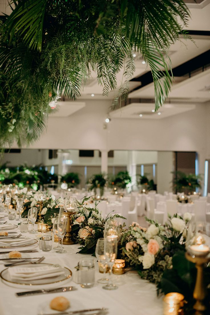 wedding receptions gold coast qld%0A We are so completely in love with the botanical styling at Anna and  Tyrone u    s Brisbane wedding