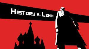 De man op de foto moet Lenin voorstellen. Op het rode plein in Moskou. Hij wilde Moskou overnemen.