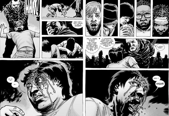Negan kills Glenn