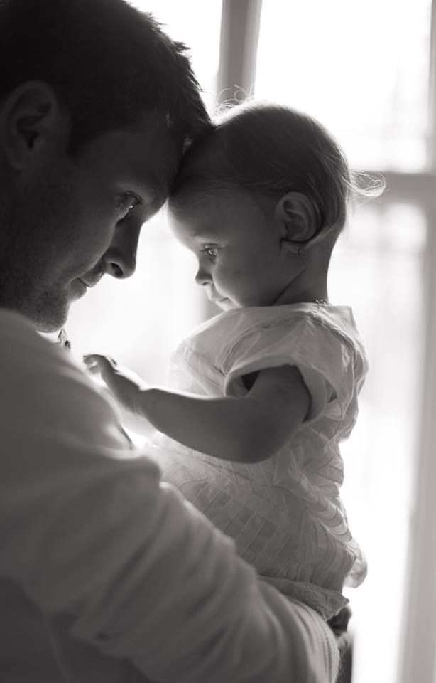 I love this daddy and babygirl photo